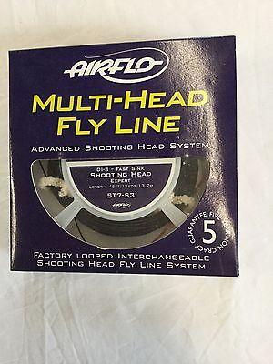 AIRFLO MULTI HEAD DI-3-FAST SINK ST7S3 STANDARD FLY LINE