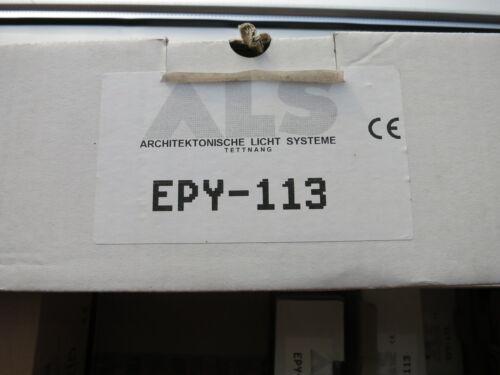 ALS Einbau Downlight weiß EPY-113 Vorschaltgerät für Sparlampe 1x13 W G24d-1