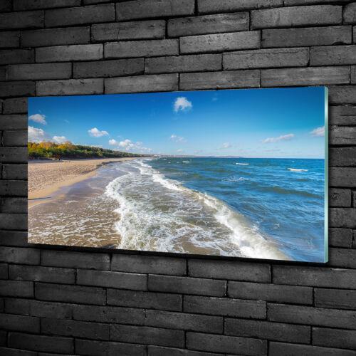 Glas-Bild Wandbilder Druck auf Glas 100x50 Deko Landschaften Ostsee
