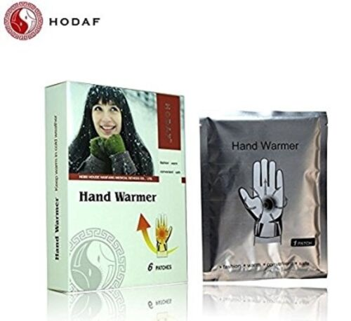 Hand Warmer Heat Pad x6 By Hodaf Use This Disposable Patch For Cold Hands In Win