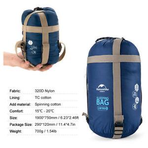 Portable-Compact-Sleeping-Bag-Outdoor-Traveling-Hiking-Envelope-Lightweight-700g