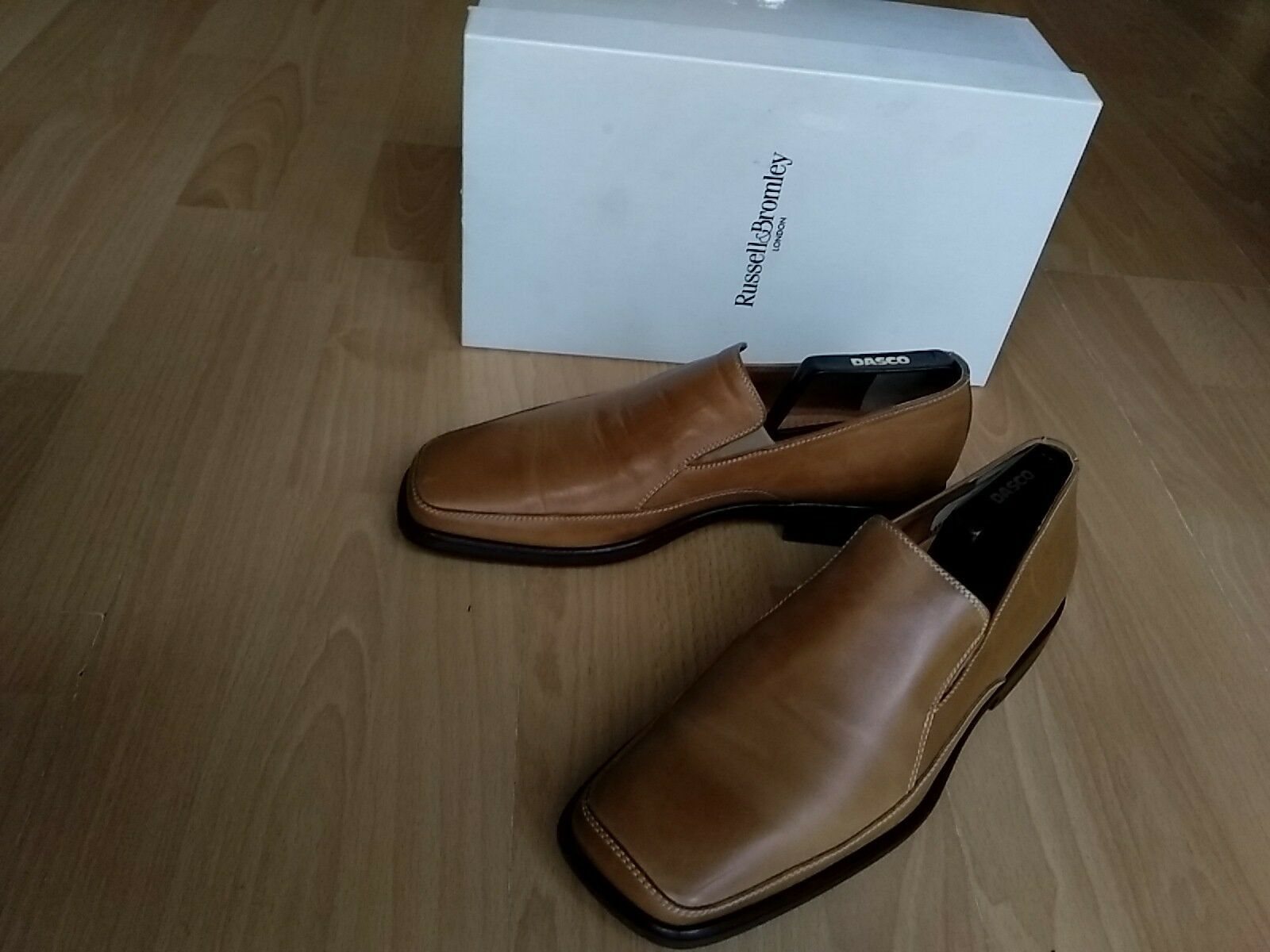 Ruseel Bromley Men's formal shoes Size 43, brown,