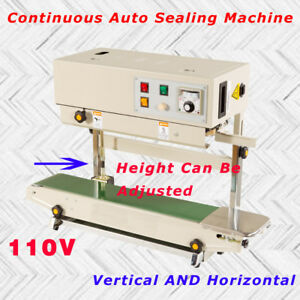 Fr 900 Continuous Auto Sealing Machine Bag Vertical And Horizontal