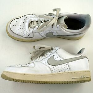 the latest 576ee 2c58e Details about Mens Sz 11.5 Nike Air Force 1 Low White AF1 '82 Shoes Style  315122-106 G7