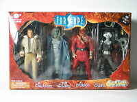 Toy Vault Farscape Crichton Zhaan D'argo Chiana Action Figure Set Of 4 Sealed