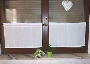 gardinen landhaus doppelfenster je 65 cm x 45 cm ma e auch. Black Bedroom Furniture Sets. Home Design Ideas