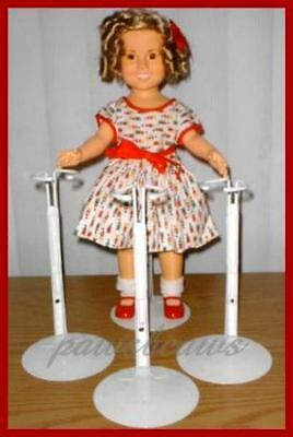 """6 Kaiser Doll Stands for 15/"""" 16/"""" 18/"""" Shirley Temple"""