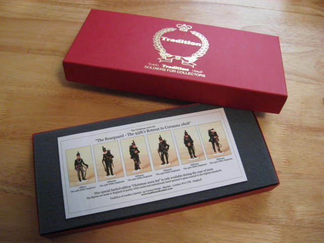 Tradition of London Toy Soldiers 2002 Christmas Set 95th Rifles NIB