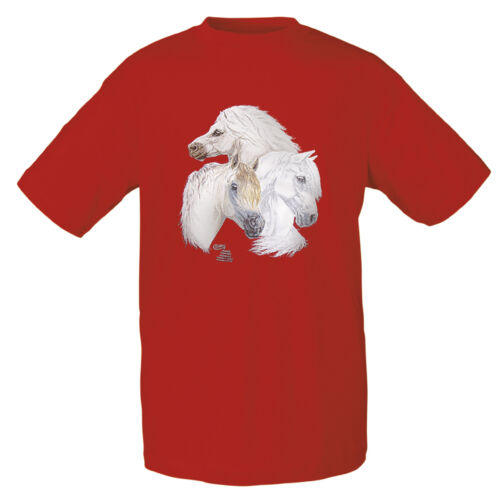 Bambini T-shirt in 2 colori Welsh pony 116-152 C boetzel cavalli 08136