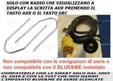 Cavo KIT INGRESSO AUDIO AUX Mp3 Alfa 159 Fiat 500 Grande Punto ed Evo a pannello