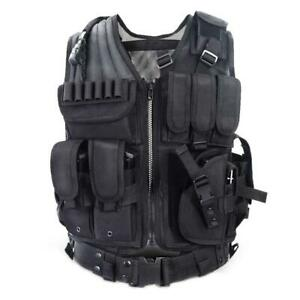 Adjustable-Tactical-Military-Airsoft-Molle-Combat-Army-Plate-Carrier-Vest-Super