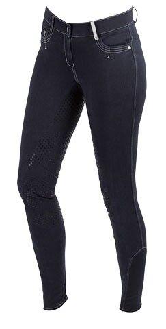 Kerbl Kinderreithose Covalliero Basic Plus blue Vollgrip  Beinabschluss elastisch  exclusive