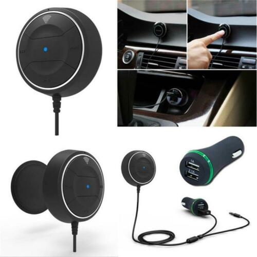 NFC Bluetooth 3.5mm AUX Music Stereo Car Audio Receiver Adapter Hands-Free Kit E