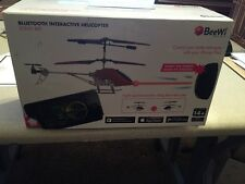 Beewi Bluetooth Interactive Helicopter  Sting Bee Bbz352 W/ Control  Iphone Ipad