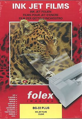 50 sheets A4 Inkjet Acetate Transparencies OHP Film FREE P&P