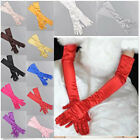 Nice Satin Long Gloves Opera Wedding Bridal Evening Party Costume GLOVES