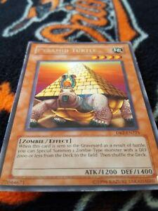 Yugioh-Pyramid-Turtle-unlimited-silver-rare-DB2-x3