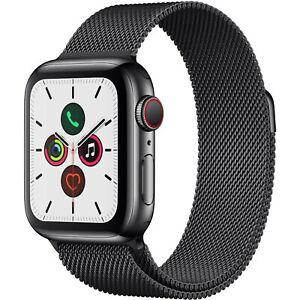 Apple-Watch-Series-5-w-Space-Black-Milanese-Loop-GPS-Cellular-40mm-Black
