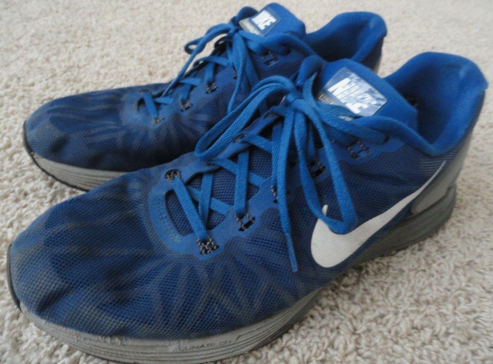PRE 6 OWNED Blue NIKE Lunarglide 6 PRE Running Shoes - Men's 12.5 777a67