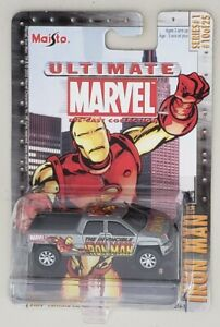 MAISTO-ULTIMATE-MARVEL-SERIES-1-10-OF-25-IRON-MAN-GMC-TERRADYNE