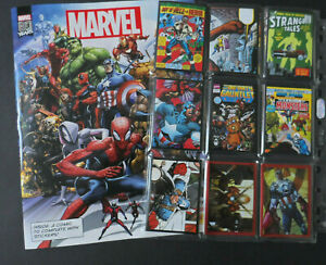 PANINI-MARVEL-80-YEARS-ANNIVERSARY-192-STICKER-SET-amp-EMPTY-ALBUM-2020
