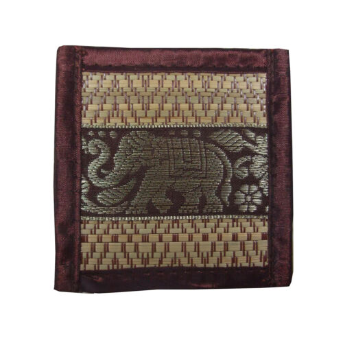 Placemat /& Coasters 8 Item Set Table Set Linen Elephant Asian Dining Accessories