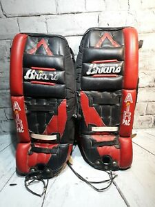 7a162a7af06 Image is loading Brians-Air-Pac-Hockey-Goalie-Leg-Pads-26-