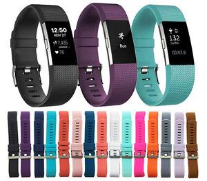 Fitbit-Charge-2-Fascia-Sicura-Fascia-Braccialetto-Buckle-Bracciale-Tracker