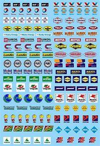 Motorsport-Sponsor-Sheet-no-12-Eleven-Gulf-Mobil-1-43-Decal
