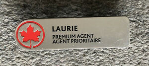 Air-Canada-Employee-Laurie-Premium-Agent-Name-TAG