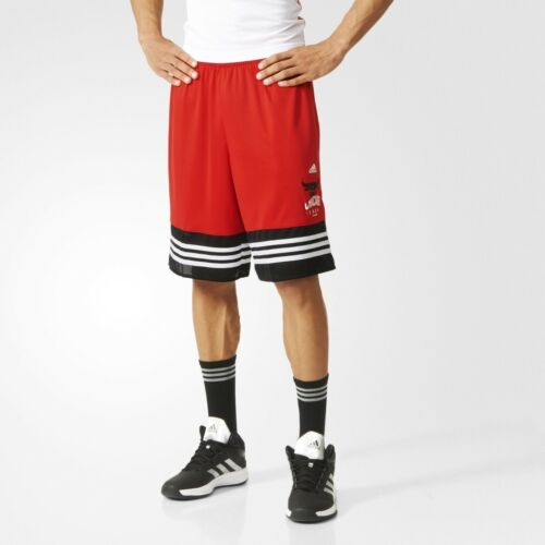 pour Basketball Nba Rouge Bulls Short Adidas HommeAh5059 Chicago de eW2IDbEYH9
