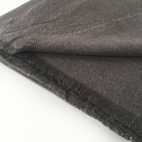 Large gris cachemire écharpe châle Wrap Pashmina Strass Hiver Plain Long Mariage
