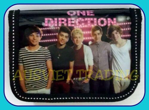 1D One Direction kids boys girls children Wallet coin Purse tri-fold new