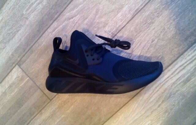 f03f461cb2727f Women s Nike Lunarcharge Essential Running Shoes Black Navy Obsidian 923620  007