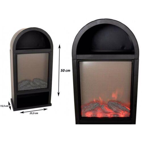 Timer Kaminfeuer Deko Elektrokamin 50cm LED Deko Kamin Flammensimulation inkl