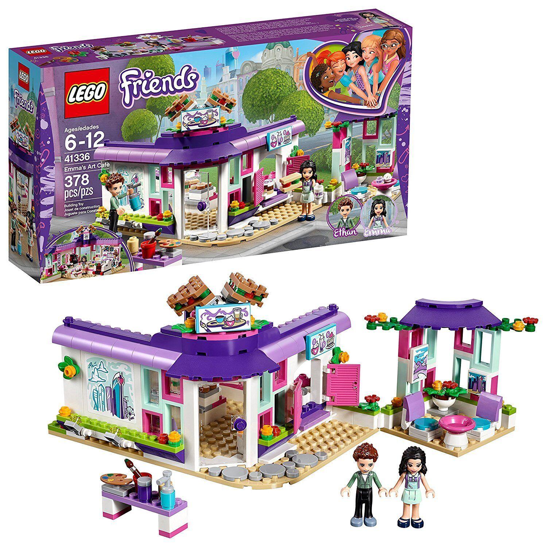 Lego friends 41336 - Café del arte de Emma. De 6 a 12 años