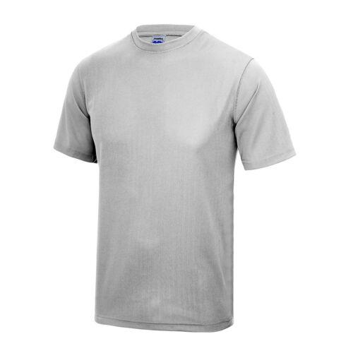 Awdis Kids Just Cool Wicking T-Shirt New School Sports Top Performance T-shirts