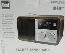 DUAL DAB 32  Radio Digitalradio Tischradio Holz optik * B-Ware*
