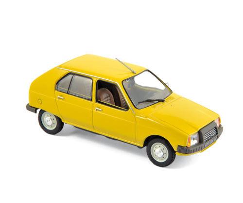 Norev 150940 CITROEN VISA CLUB giallo 1979 Modellino Auto Scala 1:43 NUOVO! °