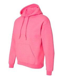 sécurité gros capuche à Gildan 7 S rose lot de xl de Hoodie sweatshirts en adultes vrac nO8Pk0w
