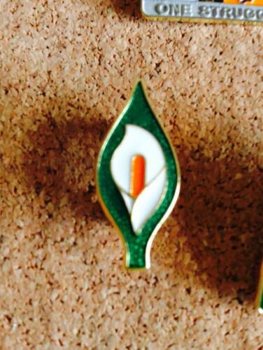 Irish Republican Rebel 1916 Rising Easter Lily Enamel Pin Badge