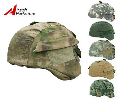 Airsoft Tactical MICH TC-2000 ACH Ver2 Helmet Cover 8 Colors A-TACS/CB/ACU/OD