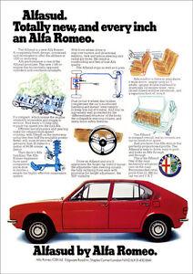 ALFA ROMEO ALFASUD RETRO A POSTER PRINT FROM CLASSIC S ADVERT EBay - Alfa romeo posters