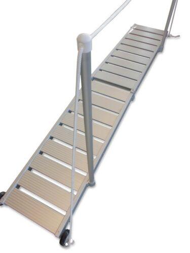 Handlauf zu ALU Gangway Superlight Geländer Gangwayhandlauf mit Seil LID19469