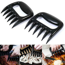 2PCs  Accessories Outdoor BBQ Forks Pulling Grill Tools Bear Claw Meat Handler