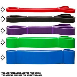 NEW-Resistance-Bands-Natural-Latex-Loop-Pull-Up-Assist-Band-Exercise-Gym-Fitness