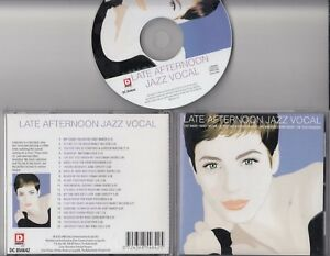 LATE-AFTERNOON-JAZZ-VOCAL-1999-CD-Chet-Baker-Nancy-Wilson-Dinah-Shore-Peggy-Lee