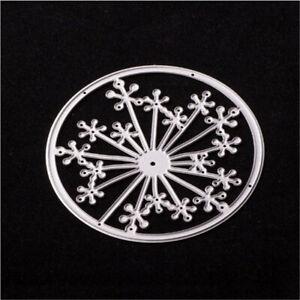 Stanzschablone-Blume-Kreis-Hochzeit-Oster-Geburtstag-Weihnachten-Karte-Album-DIY