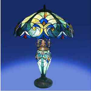 tiffany style lamp vintage classic look base lamp. Black Bedroom Furniture Sets. Home Design Ideas