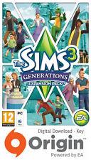 sims 3 generations origin key